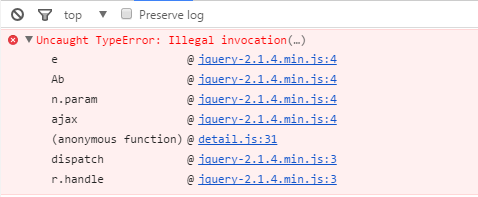 ajax提交formdata,报错Uncaught TypeError: Illegal invocation(…)