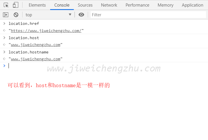 location.host 与 location.hostname 的区别