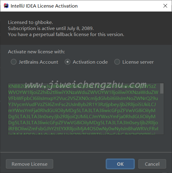 IntelliJ IDEA 2019.2已经可以利用补丁永久破解激活了