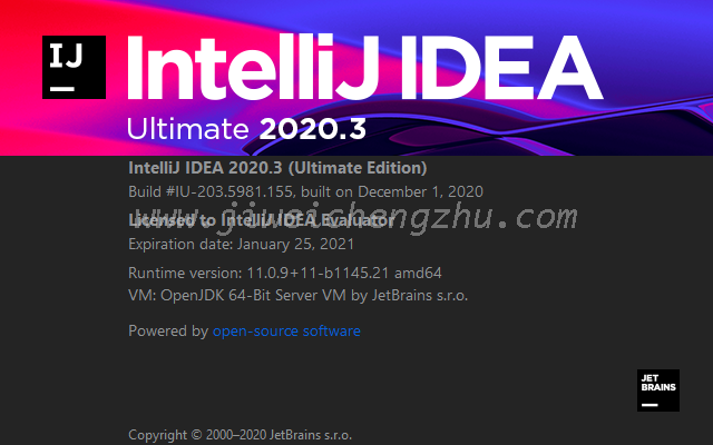 IntelliJ IDEA 2020.1.4及以上版本永久破解激活全新教程(有惊喜)